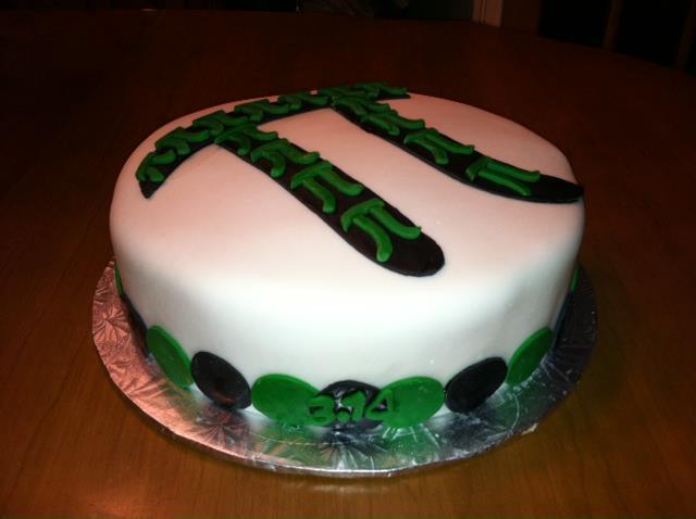 Pi Cake 2012 2