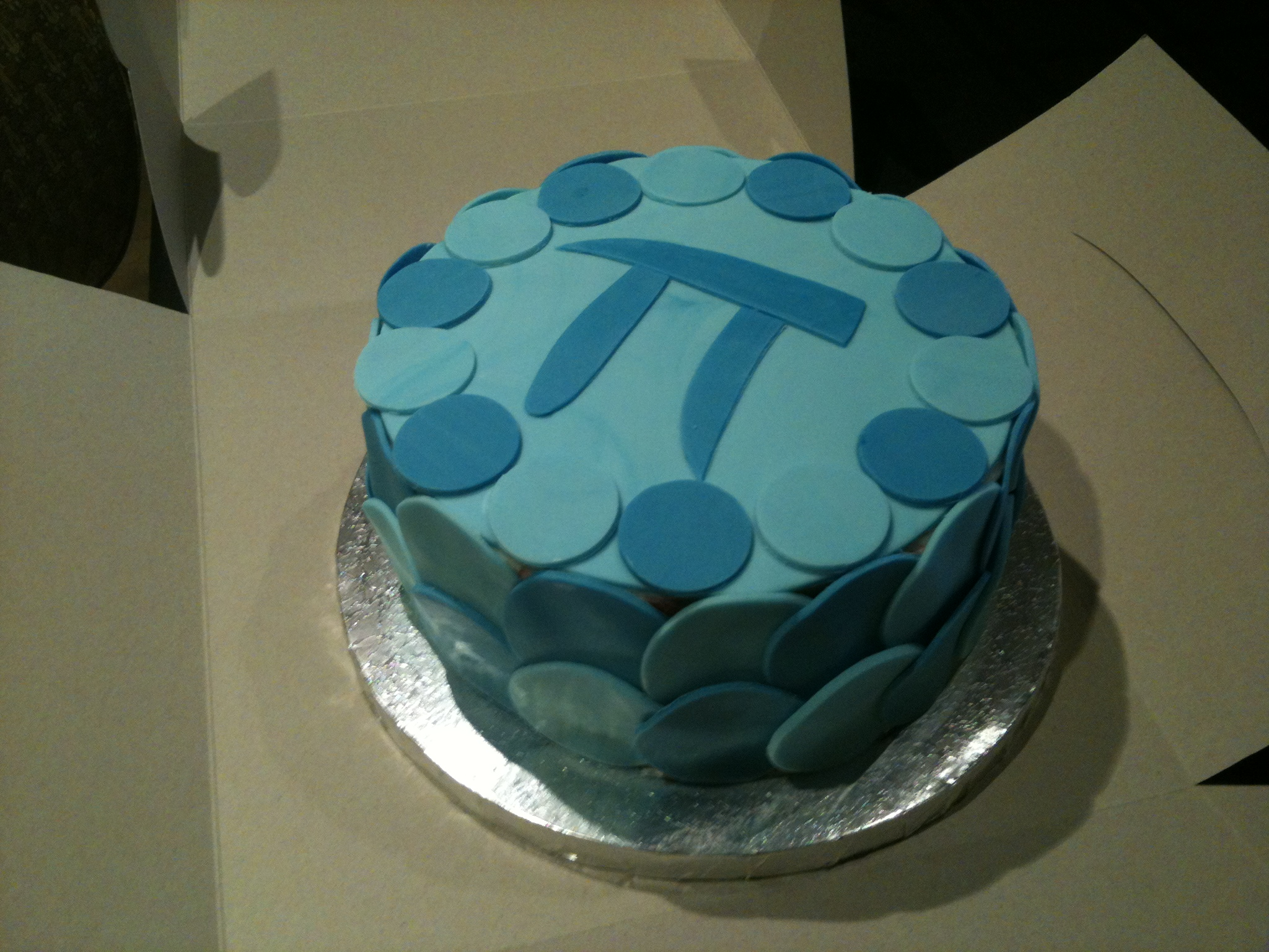 pi cake 2013