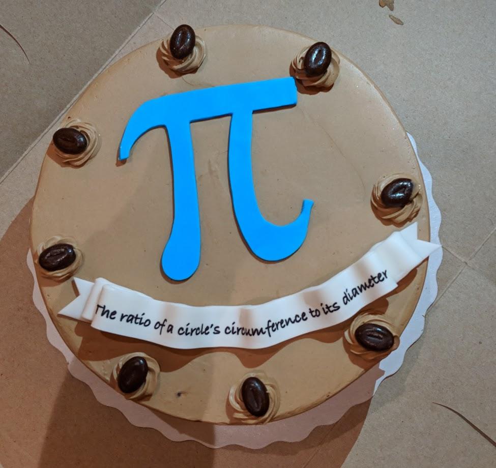 Pi Cake 2019